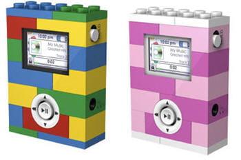 des lecteurs mp3 qui évoquent les bons vieux lego