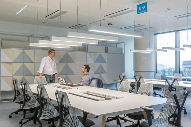 Des espaces de travail individuels ou partagés