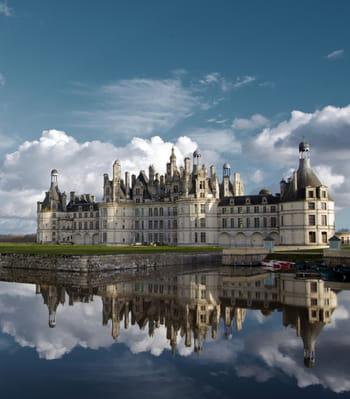 le château de chambord et sa forêt, un décor de prestige pour le cinéma.