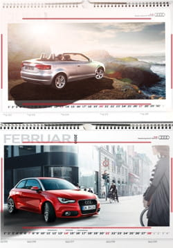 l'application ar kalender 2010 d'audi