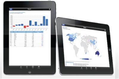 yellowfin est également disponible pour les smartphones et tablettes sous
