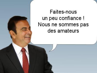 carlos ghosn, pdg de renault-nissan, le 2 février 2011.