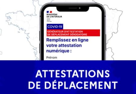 Attestation de déplacement Covid: téléchargez la nouvelle attestation