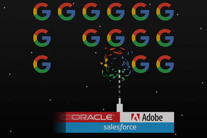 Adobe, Oracle et Salesforce s'attaquent à Google sur le martech
