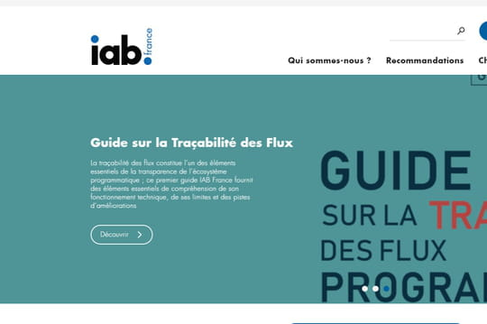 IAB : formats, standards et transparency consent framework...