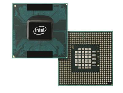 l'intel core duo processor, un des derniers produit d'intel.