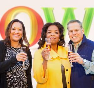 oprah winfrey inaugure sa chaîne de télévision.