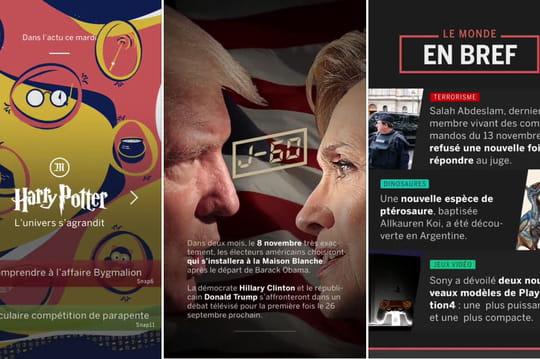 Snapchat Discover débarque en France avec 8 médias partenaires