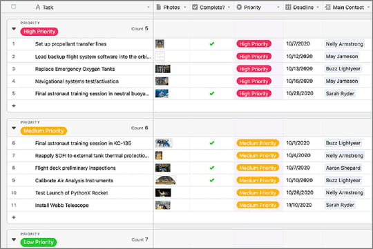 Airtable (gratuit): l'application qui veut détrôner Excel