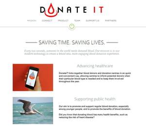 l'appli interpelle les donneurs de sang.