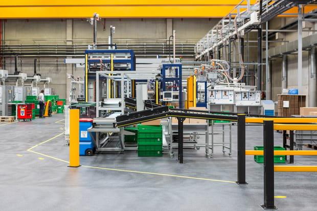 Une partie de la production est faite en Allemagne