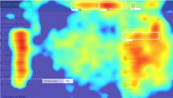 les solutions de heatmaps génèrent des cartes de chaleur, représentant les