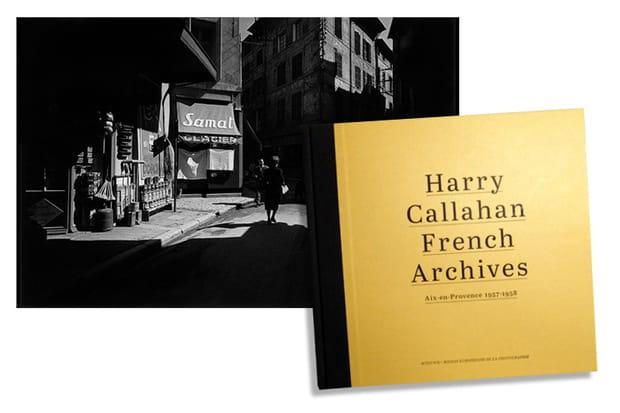 Un beau livre du photographe Harry Callahan