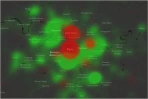 Cloudflare: le trafic Internet augmente de 16% en France, mais baisse à Paris