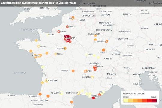 Immobilier: les meilleures villes de France pour investir en Pinel
