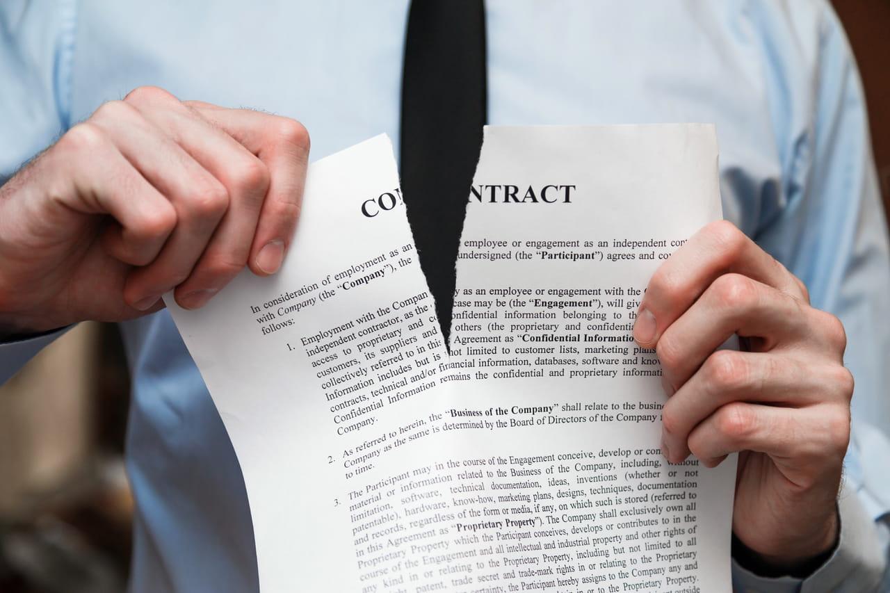 Lettre De Resiliation De Contrat Modele Gratuit De Lettre