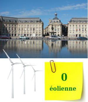 aucune éolienne n'est à ce jour installée en région aquitaine.