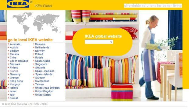 Ikea en 2003