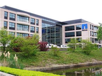 le siège européen de netapp, près d'amsterdam.