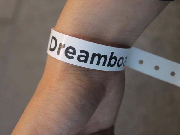 Un bracelet pour monter à bord
