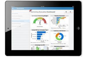Salesforce booste les fonctions Analytics de Chatter Mobile