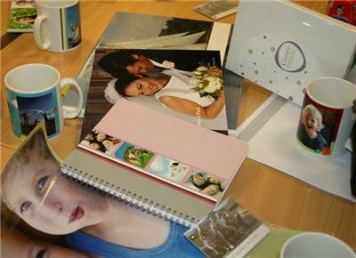 les différents produits que propose photobox en impression numérique