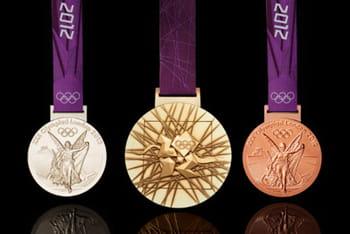 l'or destiné à la fabrication des médailles a été fourni par rio tinto, un