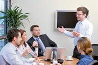 la réunion est peut-être simplement un moyen pour votre manager de canaliser