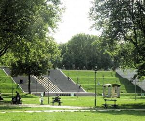 le parc de bercy, dans le 12e arrondissement.