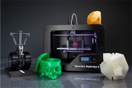 Imprimante 3D : chiffres d'affaires, nombre de ventes...