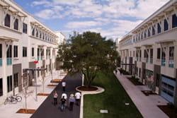le campus de facebook, qui fut celui de sun auparavant, à menlo park, en