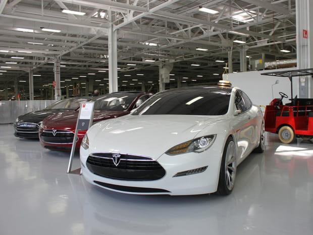 Les premières maquettes de la Model S