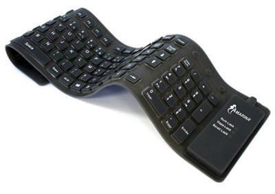 exemple de clavier souple et étanche