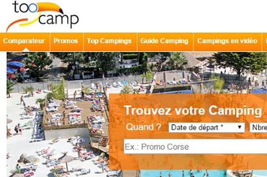 Easyvoyage rachète le comparateur de campings Toocamp