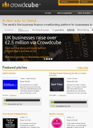 crowdcube accorde une place importante aux pitchs des entrepreneurs