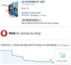 decide aide à déterminer quand acheter