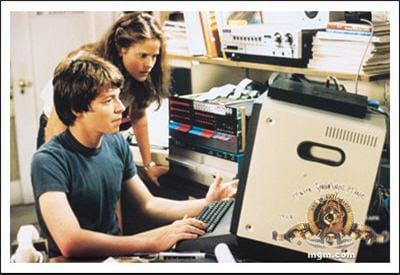 dans wargames (1983), en pleine guerre froide, un jeune garçon prend le contrôle