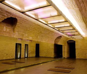 la salle de cours de l'usine beauboug.