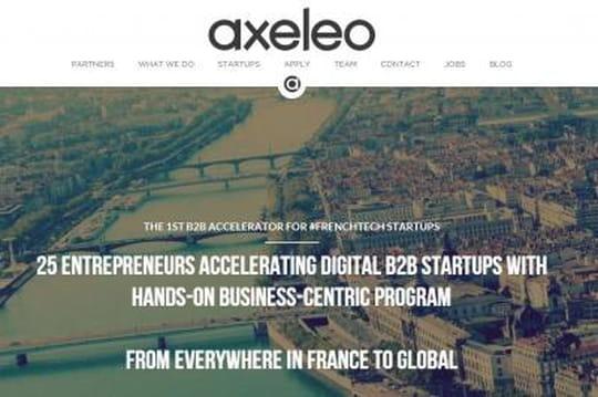 French Tech : premier investissement dans un accélérateur, Axeleo