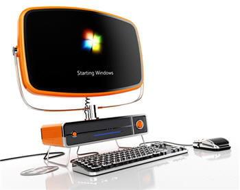 un ordinateur qui joue sur l'apparence pour se distinguer.