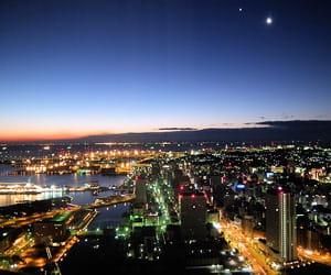 une vue de yokohama.