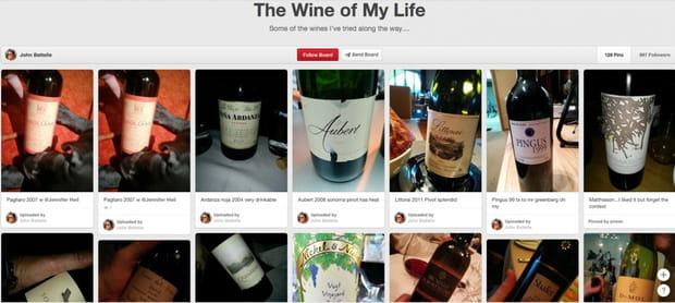 Amateurs de bon vin, Pinterest vous sera utile