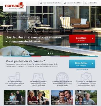 nomador, l'airbnb du gardiennage de maisons et d'animaux domestiques
