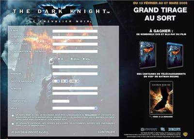 exemple de jeu concours utilisé pour soutenir le lancement d'un produit: la