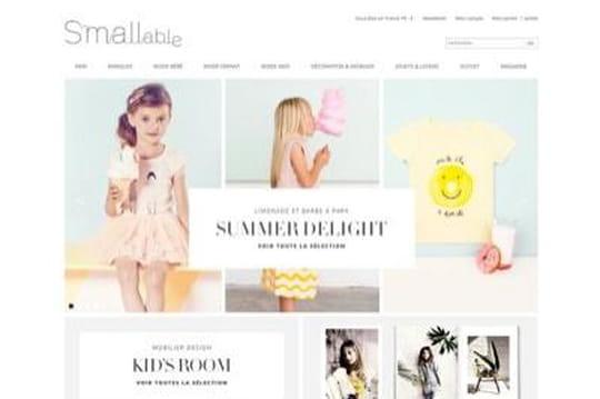 Confidentiel : Smallable, e-commerçant dédié aux enfants, lève 5 millions d'euros
