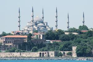 la mosquée bleue, à istanbul.