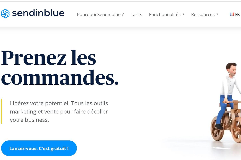 Le spécialiste du marketing digital Sendinblue lève 140millions d'euros