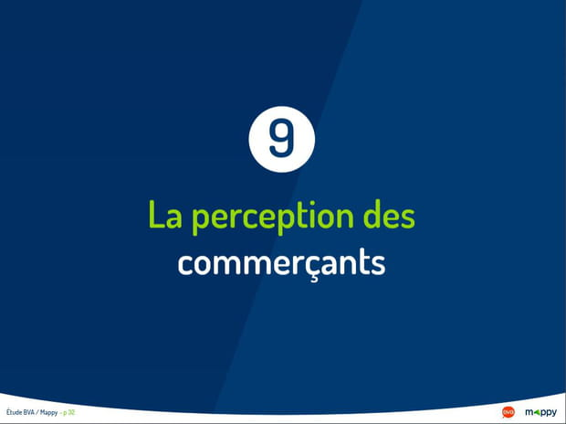 La perception des commerçants