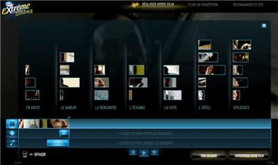 extreme-studio2cine.fr propose un banc de montage pour réaliser son propre film