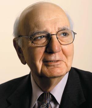 paul volcker, conseiller pour la reconstruction économique